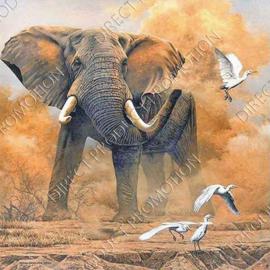 "Diamond painting ""Big elephant"""
