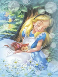 "Diamond painting ""Alice in Wonderland"""
