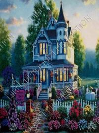"""Diamond painting """"Beautiful home"""""""