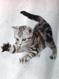 "Diamond painting ""Playing kitten"""