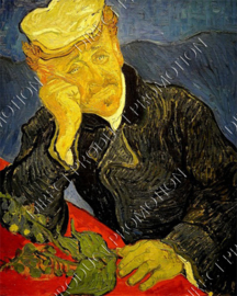 "Diamond painting ""Dr. Gachet by Vincent van Gogh"""