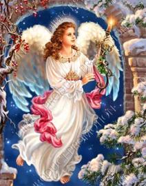 "Diamond painting ""Classic angel"""