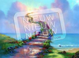 """Diamond painting """"Stairway to Heaven"""""""