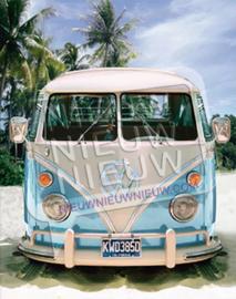"""Diamond painting """"Blue Volkswagen van"""""""
