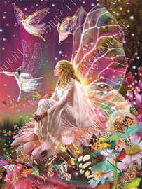 "Diamond painting ""Fairies and butterflies"""