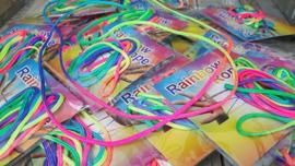 3 x Rainbow Rope