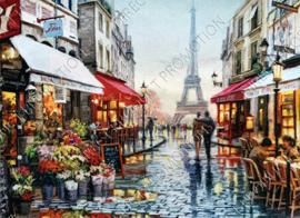 """Diamond painting """"Street in Paris"""""""