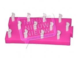 Koppel loom board (Roze)