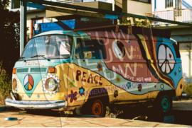 "Diamond painting ""Volkswagen peace van"""