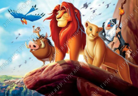 "Diamond painting ""Lion king"""