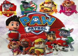 """Diamond painting """"Paw Patrol"""""""
