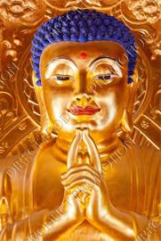 "Diamond painting ""Golden Buddha"""
