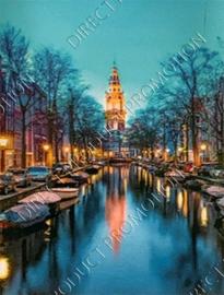 "Diamond painting ""Canal Amsterdam"""