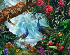 "Diamond painting ""Animals"""