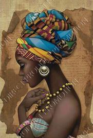 "Diamond painting ""African woman"""