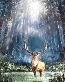 """Diamond painting """"Red deer"""""""