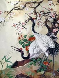 """Diamond painting """"Japanese cranes"""""""