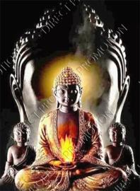 """Diamond painting """"Four buddhas"""""""