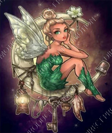 "Diamond painting ""Tinkerbell"""
