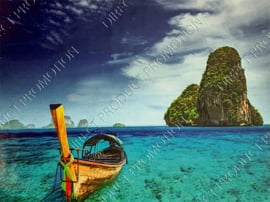 """Diamond Painting """"Boat in the sea"""""""
