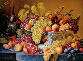 "Diamond painting ""Still life of fruit"""