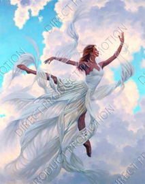 "Diamond painting ""Cloud fairy"""
