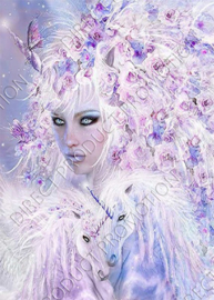 "Diamond painting ""Unicorn princess"""