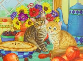 "Diamond Painting ""Kittens"""