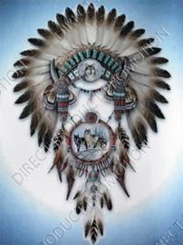 """Diamond painting """"Indianentooi"""""""