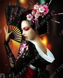 """Diamond painting """"Geisha from Japan"""""""