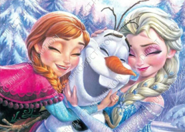 "Diamond painting ""Frozen"""