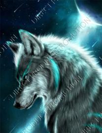 """Diamond painting """"Wolf"""""""