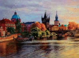 "Diamond painting ""City landscape"""