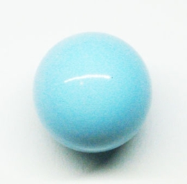 Klankbol zacht blauw 16mm (KL17)