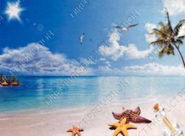 """Diamond painting """"Tropical coast"""""""