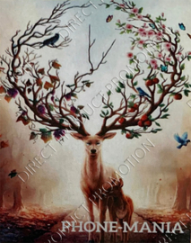 "Diamond painting ""Deer of life"""