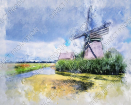 "Diamond painting ""Windmill"""