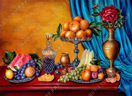 "Diamond painting ""Still life with fruit"""