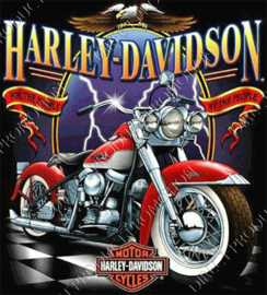 "Diamond painting ""Motorcycle Harley-Davidson"""