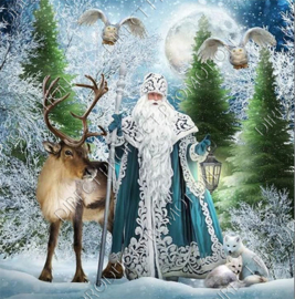 "Diamond painting ""Lord of the winter"""