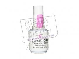Soak-Off Gellak: Roze nr. 43