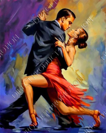 "Diamond painting ""The Tango"""