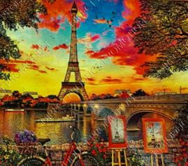 """Diamond painting """"Eiffel Tower in Paris"""""""