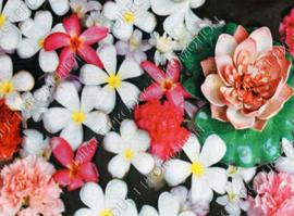 """Diamond painting """"Water flowers"""""""