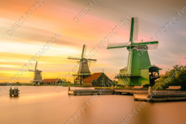 "Diamond painting ""Windmills Kinderdijk"""