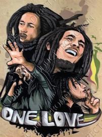 "Diamond painting ""Bob Marley"""