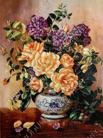 "Diamond painting ""Yellow roses"""