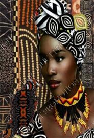 "Diamond painting ""African girl"""
