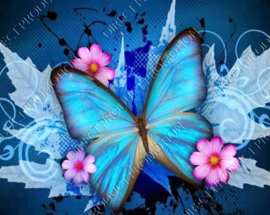 "Diamond painting ""Butterfly"""