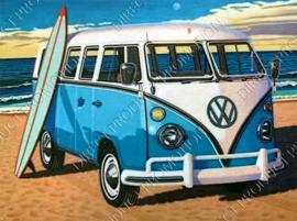 "Diamond painting ""Blue VW van"""